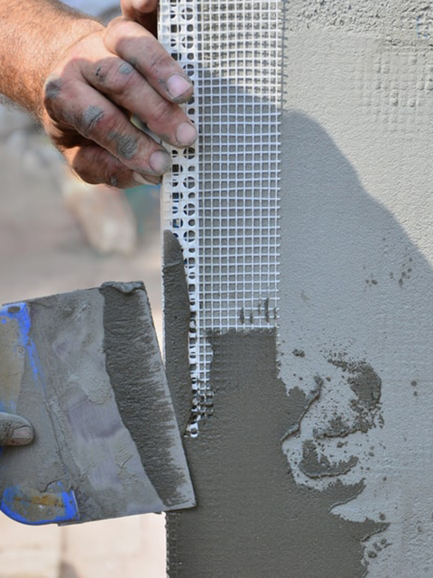 synthetic stucco repair