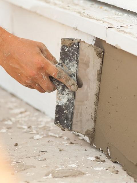 stucco repair under window sill-2